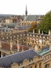 Photograph from St Marys Church tower  Oxford