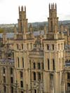 Photograph of All Souls College at  Oxford