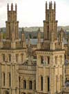 Photograph of All Souls at  Oxford