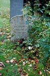 Eric Arthur Blair better known as George Orwell  grave All Saints Church at Sutton Courtenay